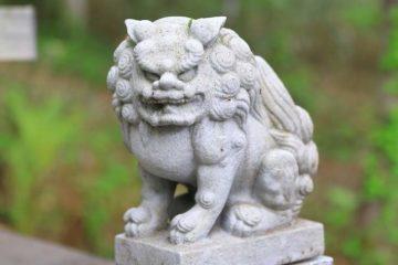 小樽天狗山 天狗山神社 狛犬