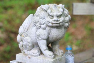 小樽天狗山 天狗山神社狛犬