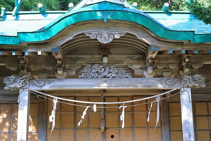 忍路神社 拝殿