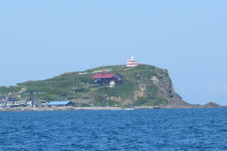 高島岬と鰊御殿