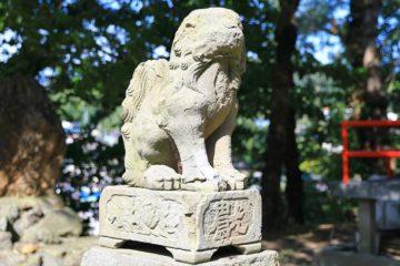赤岩稲荷神社 狛犬