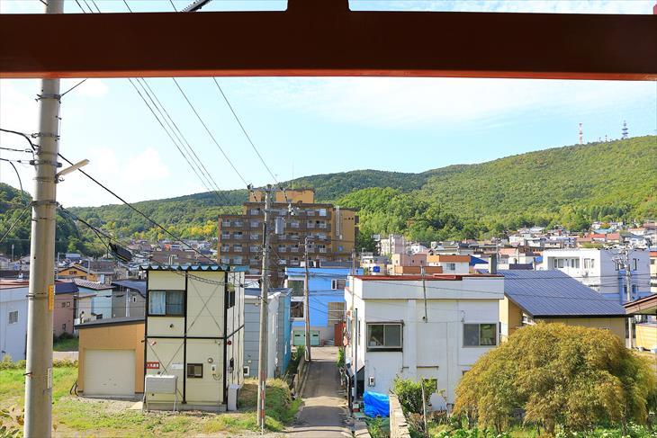 赤岩稲荷神社からの景色