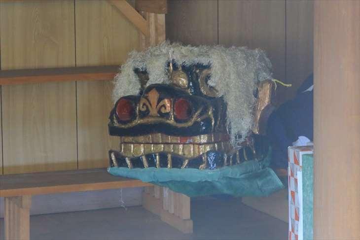 朝里神社 獅子舞