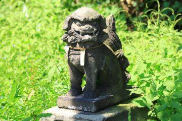 恵美須神社の狛犬