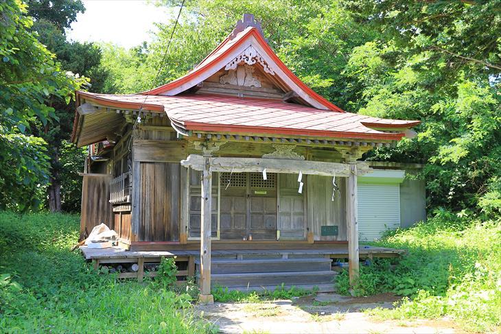 恵美須神社の本殿