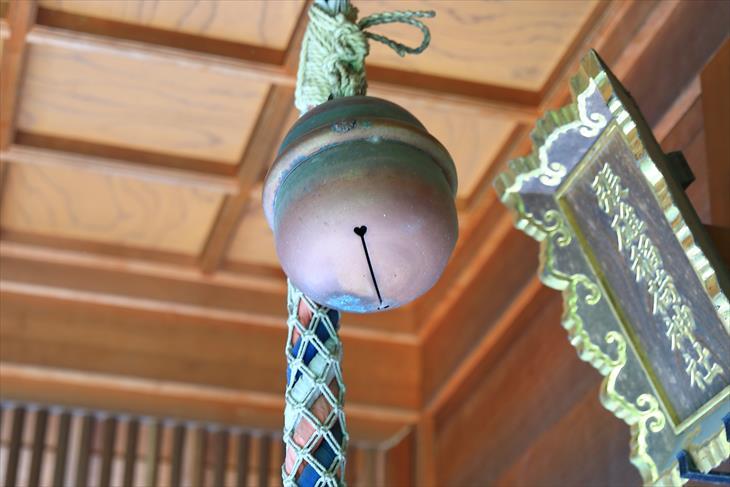 張碓稲荷神社の鈴