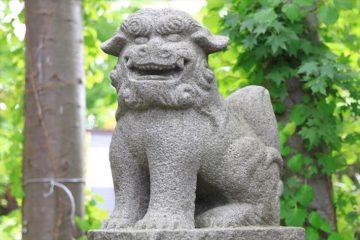 星野稲荷神社 狛犬
