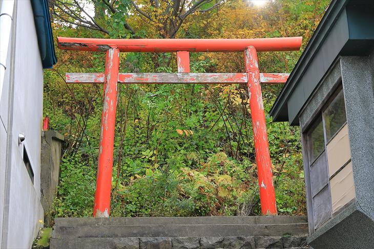 小樽地守稲荷神社の鳥居
