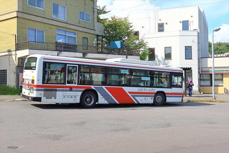 桜町ロータリー バス停
