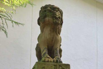 熊碓神社の狛犬