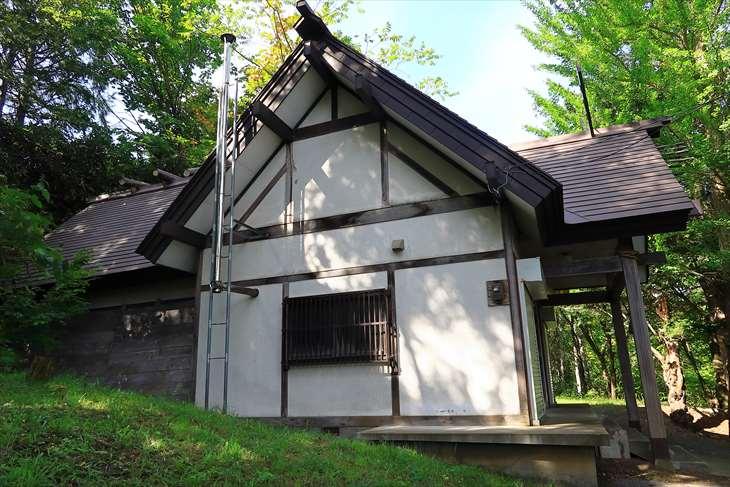 熊碓神社の社殿