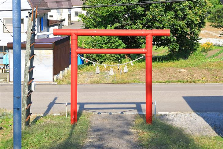 桃内神社の第一鳥居
