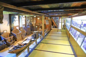 小樽市鰊御殿の内部