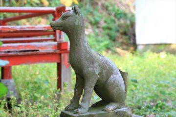 津古丹稲荷神社のお稲荷様