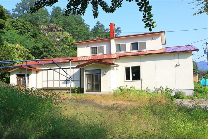 忍路神社の社務所