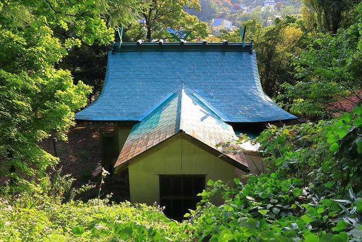 忍路神社の拝殿
