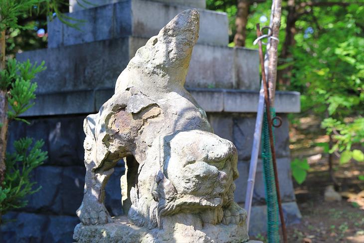 小樽稲荷神社 狛犬