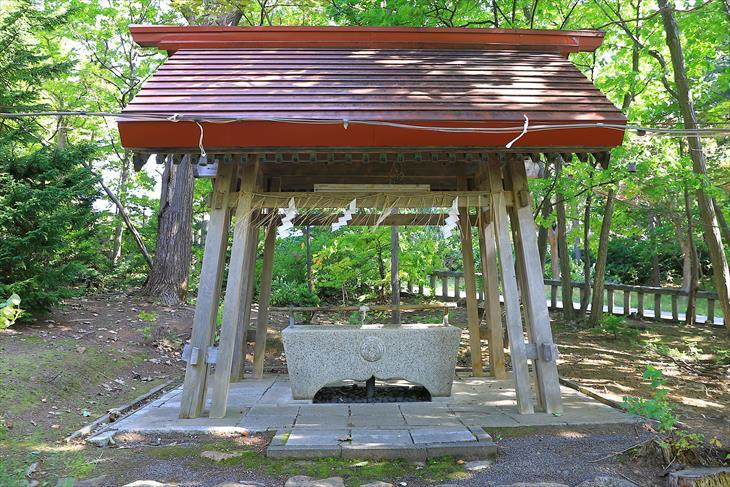 小樽稲荷神社手水舎