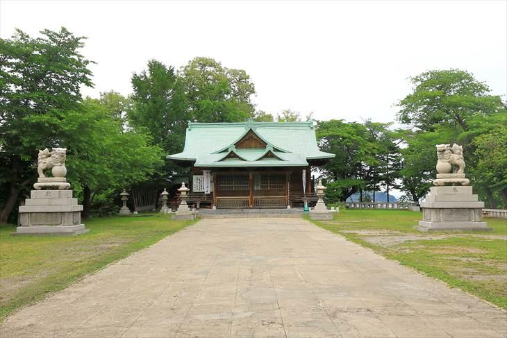 小樽水天宮 社殿