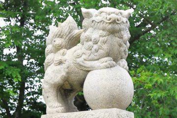 小樽水天宮 狛犬