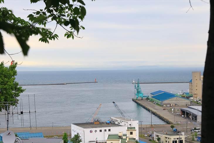 小樽水天宮からの眺め