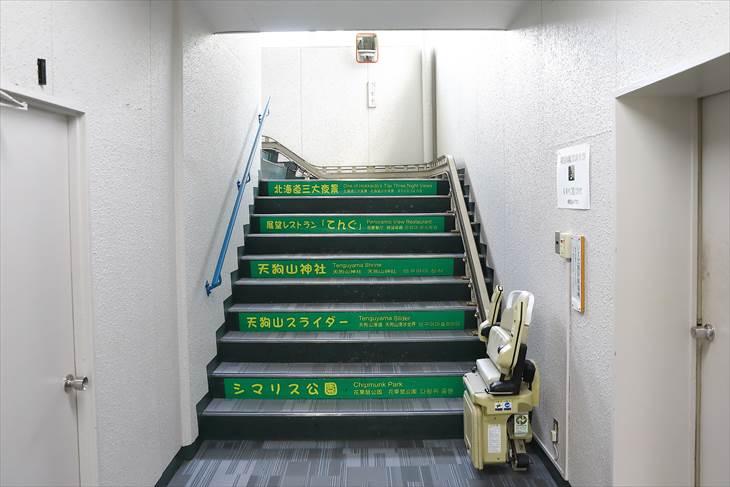 小樽天狗山ロープウェイ乗場