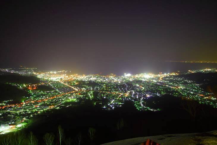 小樽天狗山からの夜景