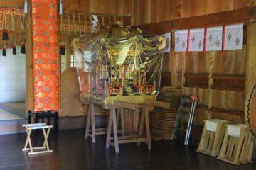 小樽天満宮の神輿