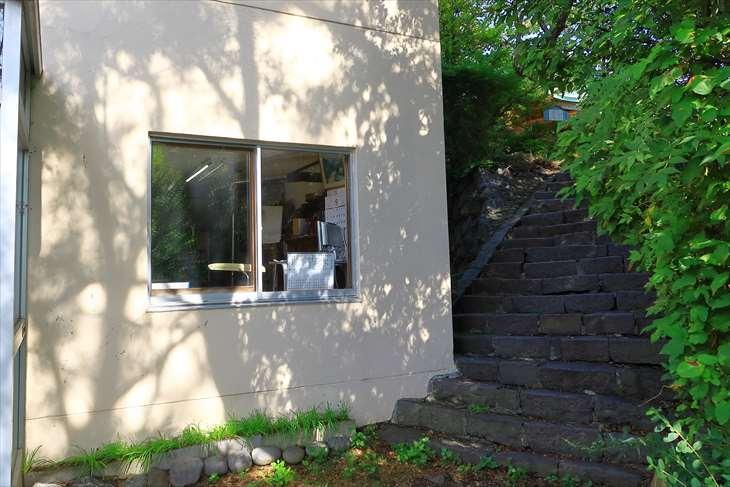 水天宮 社務所横の階段
