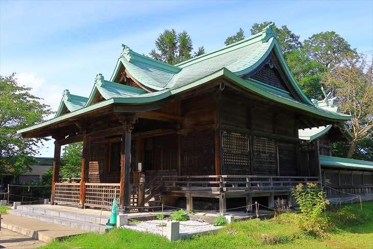 小樽 水天宮の社殿