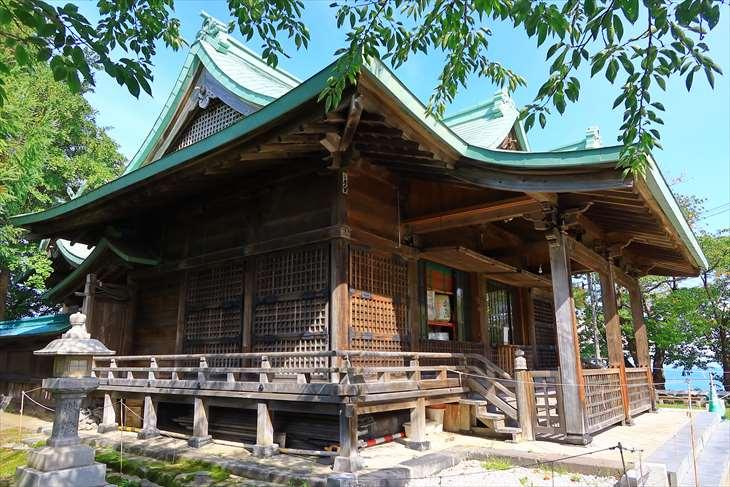 小樽 水天宮の拝殿