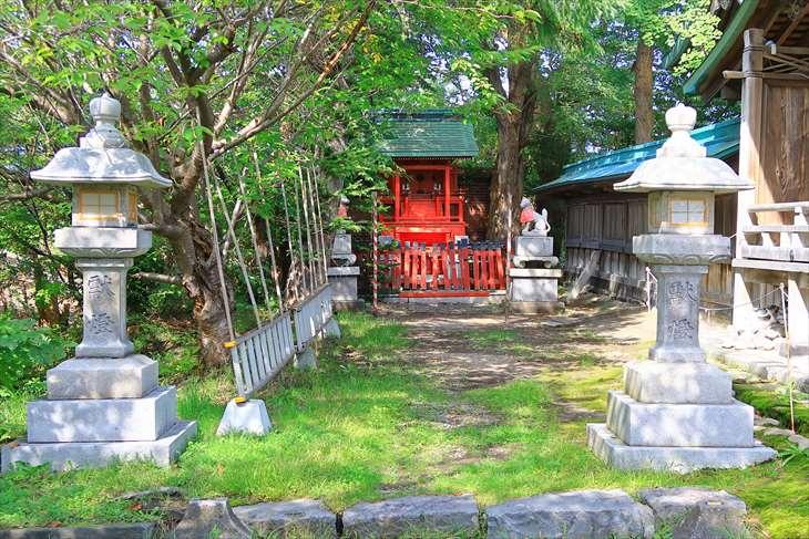 小樽 水天宮の稲荷神社