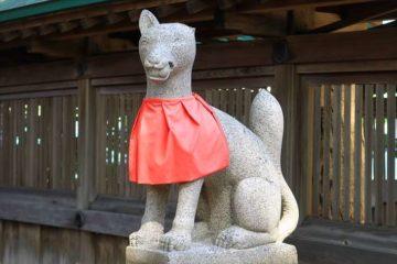 小樽 水天宮の稲荷神社のお稲荷様