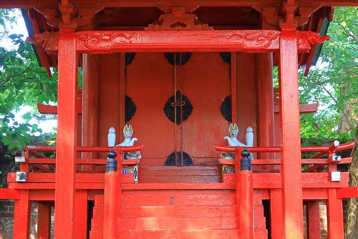 小樽 水天宮の稲荷神社のお社