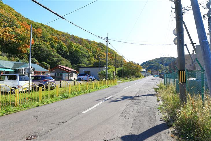 蘭島神社近くの風景