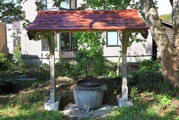 蘭島神社の手水舎