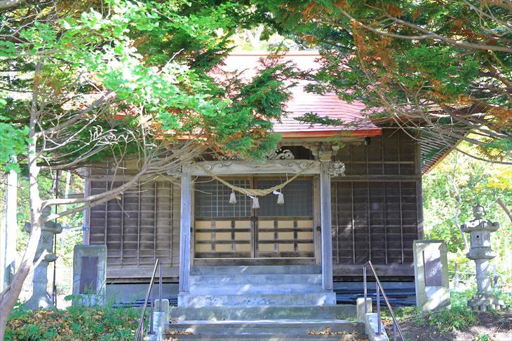 蘭島神社 拝殿