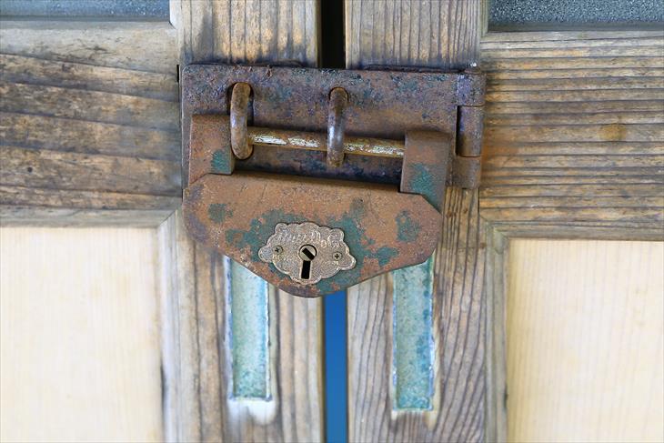 蘭島神社の鍵