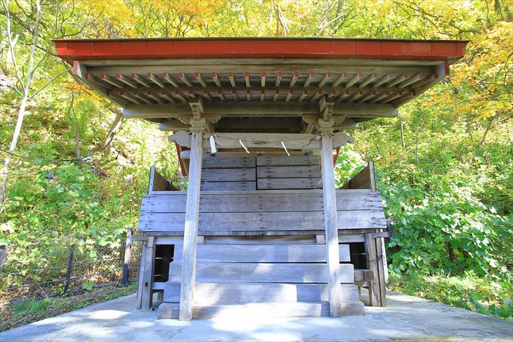 蘭島神社の本殿