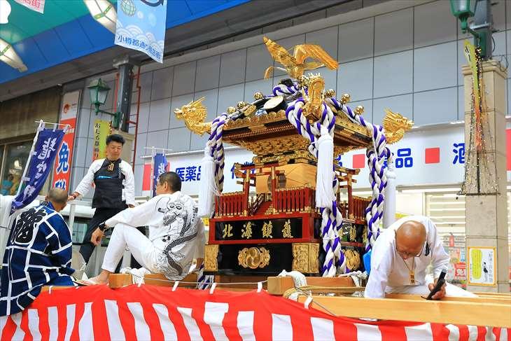 龍宮神社 神輿渡御行列