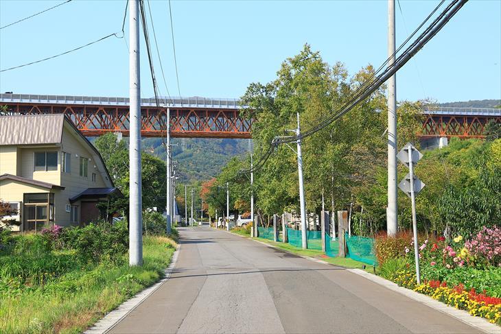 三社神社近くの風景