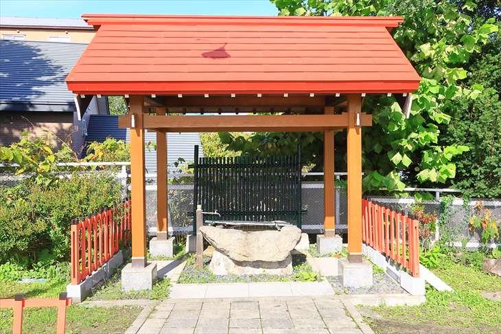 潮見ケ岡神社の手水舎