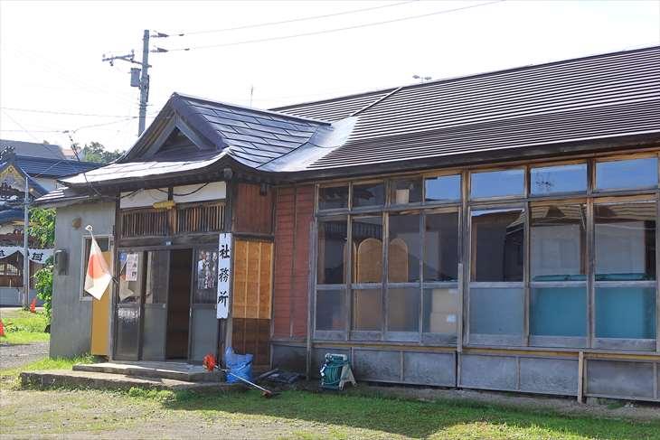 潮見ケ岡神社の社務所
