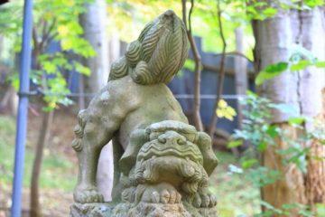 塩谷神社 狛犬