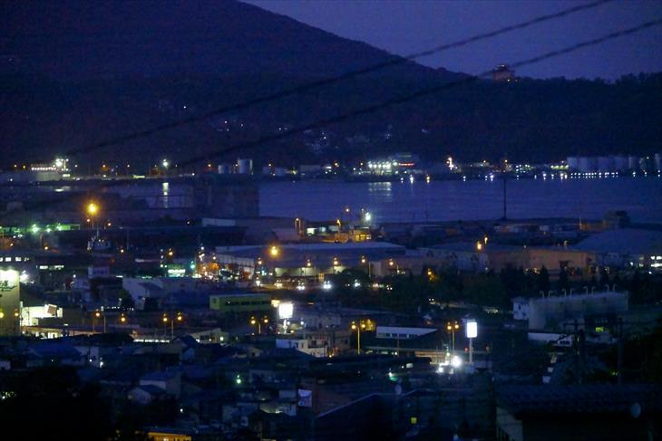 宗円寺前からの景色