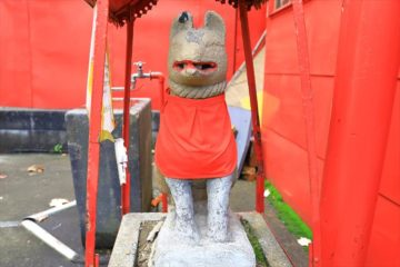 末広稲荷神社のお稲荷様