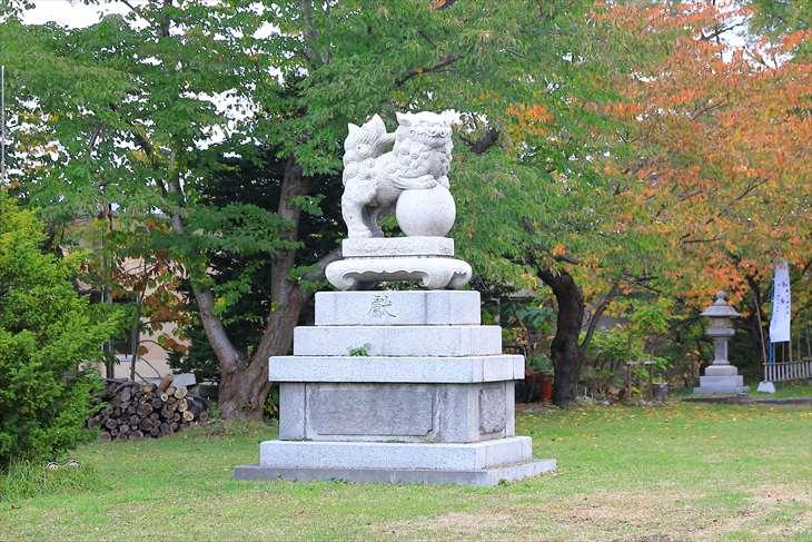 小樽水天宮の狛犬