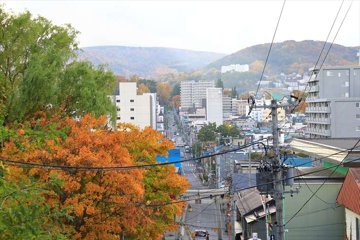 小樽水天宮からの景色