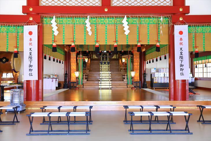 住吉神社 社殿の中