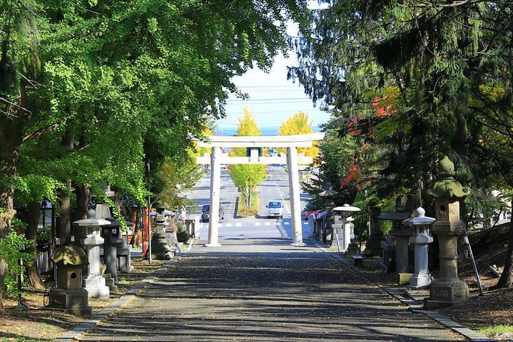 住吉神社 参道